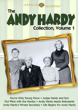 Andy Hardy Collection, Vol. 1 - Andy Hardy, the original teen supreme, comes careening to your screen in the first of a series of collections!