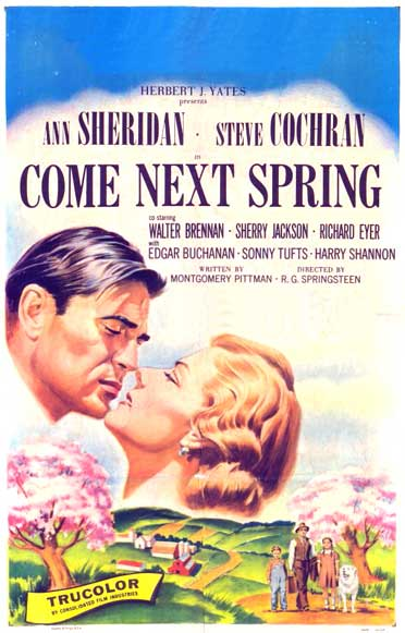 Come Next Spring rare classic movie