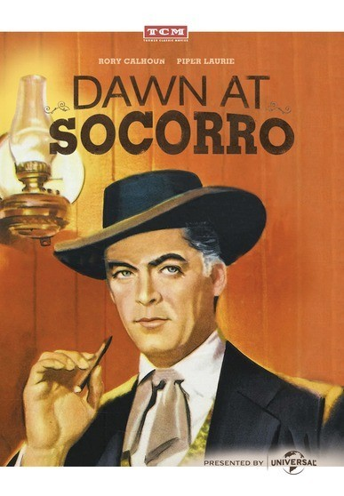 Dawn at Socorro - Rory Calhoun as cardsharp Brett Wade, whose friendship with sibling peacekeepers Harry and Vince McNair puts him in the crosshairs of outlaw Tom Ferris.