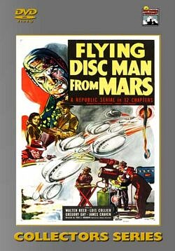 Flying Disc Man From Mars - 12 Chapters