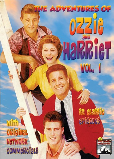 The Adventures of Ozzie and Harriet - Huge collection of rare TV episodes that includes the original network commercials. Full-Length uncut.