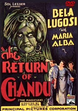 The Return of Chandu - 12 Chapter Serial