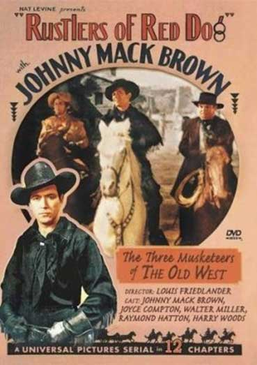 Starring Johnny Mack Brown, Joyce Compton and Raymond Hatton.
