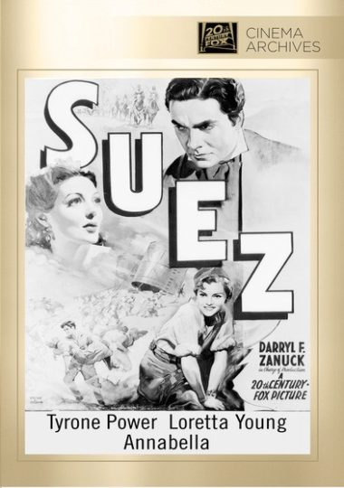 Suez - Ferdinand de Lesseps, disappointed in love, is sent as a junior diplomat to the Isthmus of Suez, and realizes it's just the place for a canal.