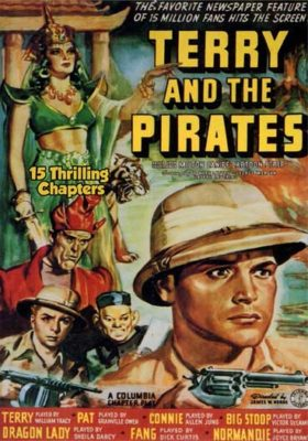 Terry and the Pirates - 15 thrilling chapters