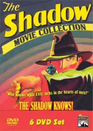 The Shadow Movie Collection - 6 Full-Length movies