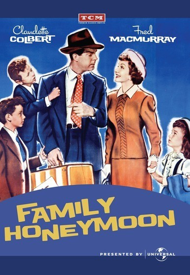 Family Honeymoon - a couple is engaged to be married... but theres a hitch! The babysitter is a now show and the kids have to go along on the honeymoon.