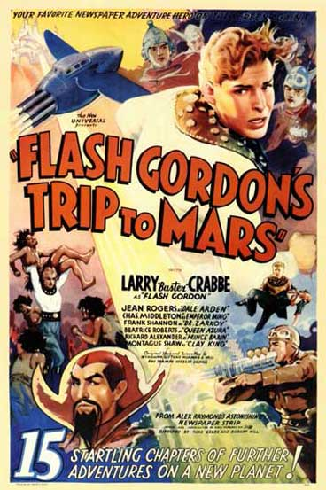 Flash Gordon's Trip to Mars - 15 Chapters