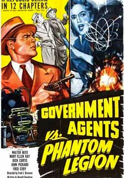 Government Agents vs. Phantom Legion - 12 Chapters.