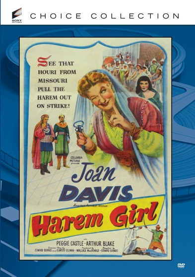 Harem Girl - Susie Perkins s a fast-talking, wisecracking girl from Cedar Rapids who moves to the Middle East in search of romance and adventure.