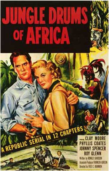 Jungle Drums of Africa - 12 Chapters