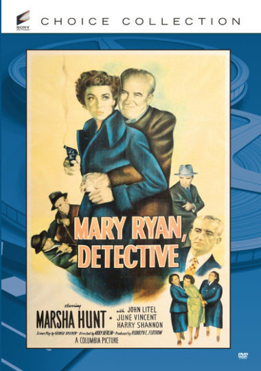 Mary Ryan, Detective - Police detective Mary Ryan is going undercover to take down a gang of jewel thieves.