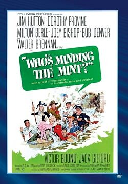 Who's Minding the Mint - a mint employee accidentally destroys $50,000 a has to find a way to reprint and put the money back in the mint.