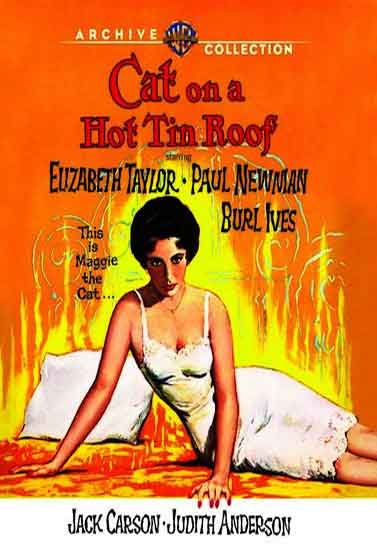 Cat On A Hot Tin Roof - 1958 Starring Elizabeth Taylor - Classic Movie