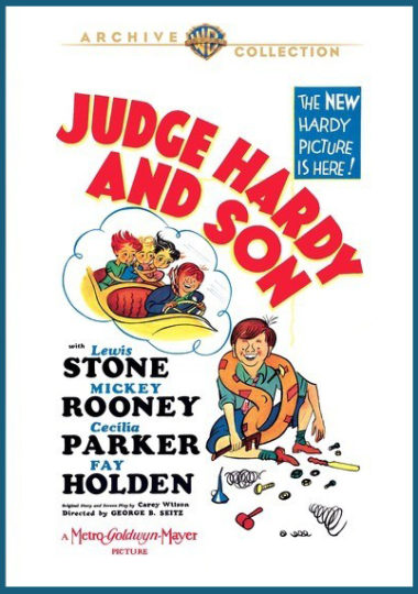 Judge Hardy and Son starring Mickey Rooney
