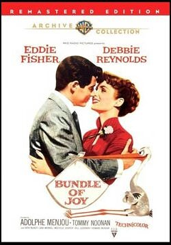 Bundle of Joy starring Debbie Reynolds and Eddie Fisher
