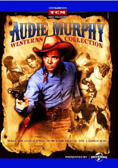 Audie Murphy Westerns Collection from TCM