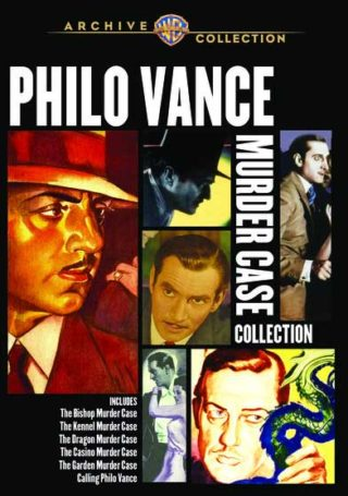 Philo Vance Movie Collecton – 6 Rare Films