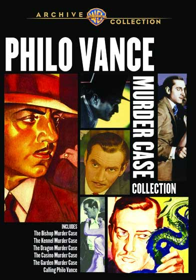 Philo Vance Movie Collecton - 6 Rare Films