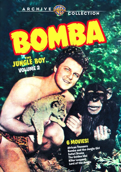 Bomba, the Jungle Boy - Vol 2. 6 full length films.
