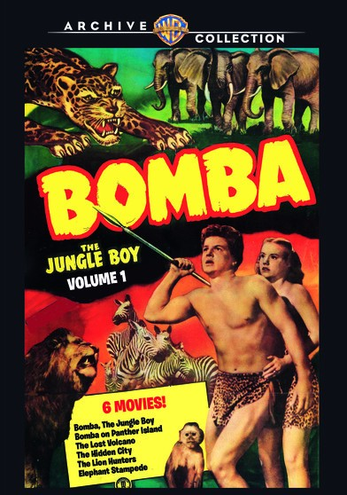 Jungle Boy Movies - First six films of the series.