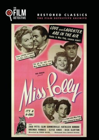 Miss Polly – 1941 rare classic movie starring Zasu Pitts