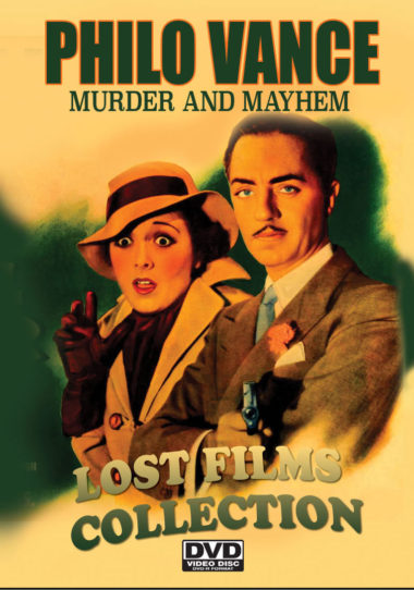 Philo Vance Lost Films Collection