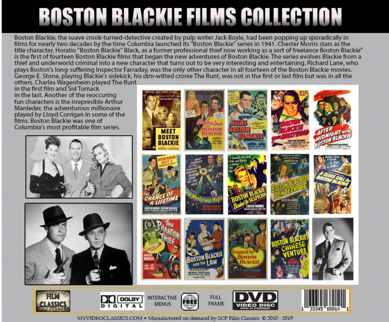 Boston Blackie Films Collection