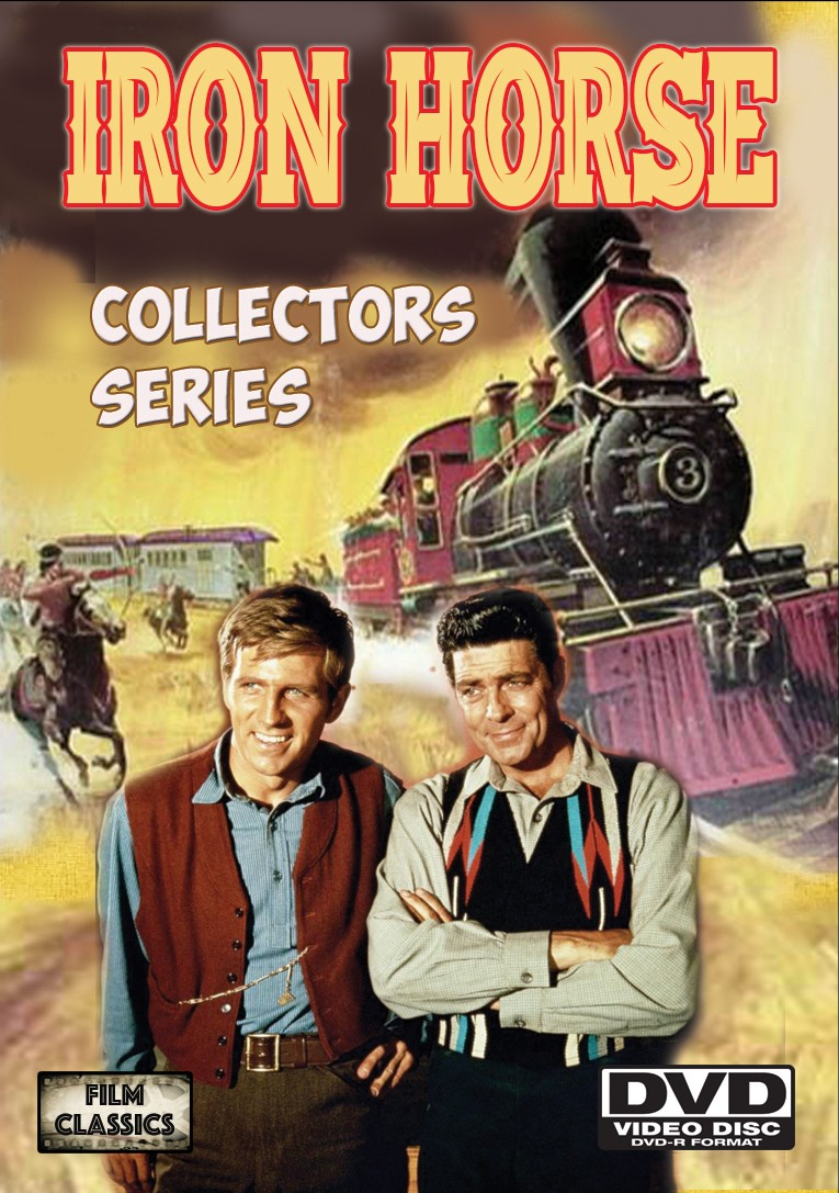 Iron Horse rare TV Shows starring Dale Robertson