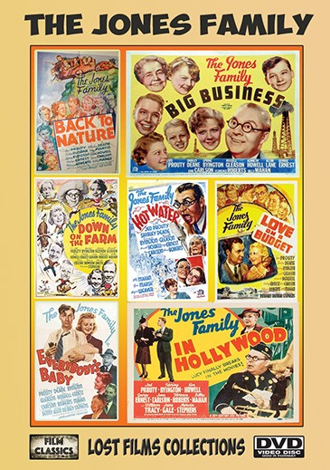 Jones Family Lost Films Collection