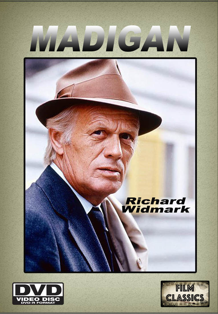 Madigan TV Series Starring Richard Widmark