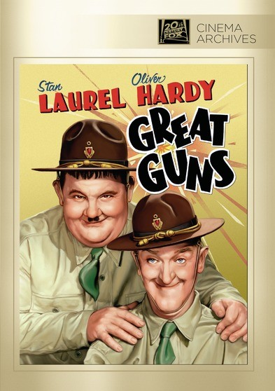 Laurel and Hardy in Great Guns (1941)