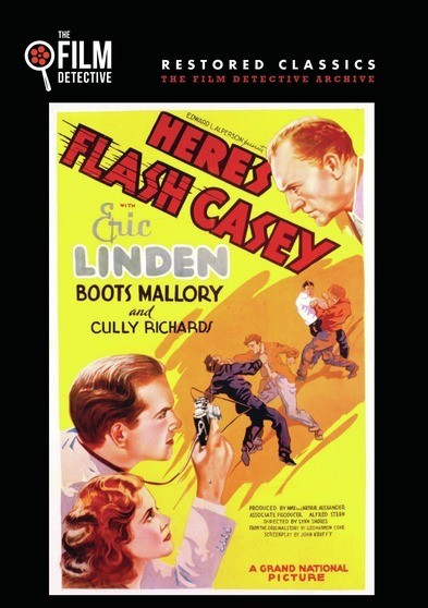 Here's Flash Casey 1938 Classi Movie