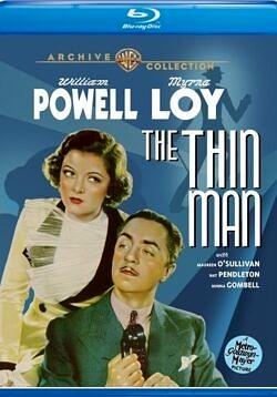 The Thin Man 1934 movie starring William Powell and Myrna Loy