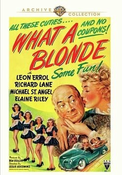 What a Blonde (1945) with Leon Errol