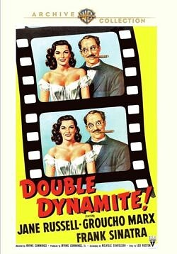 Double Dynamite 1951, starring Frank Sinatra and the Marx Brothers