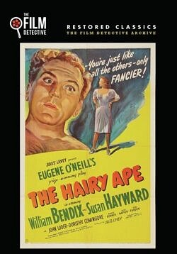 The Hairy Ape starring William Bendix